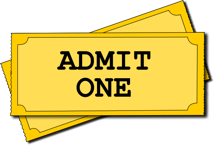 Movie Ticket Clipart Free Clipart Images