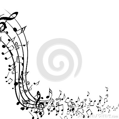 Music Notes Stock Image Image