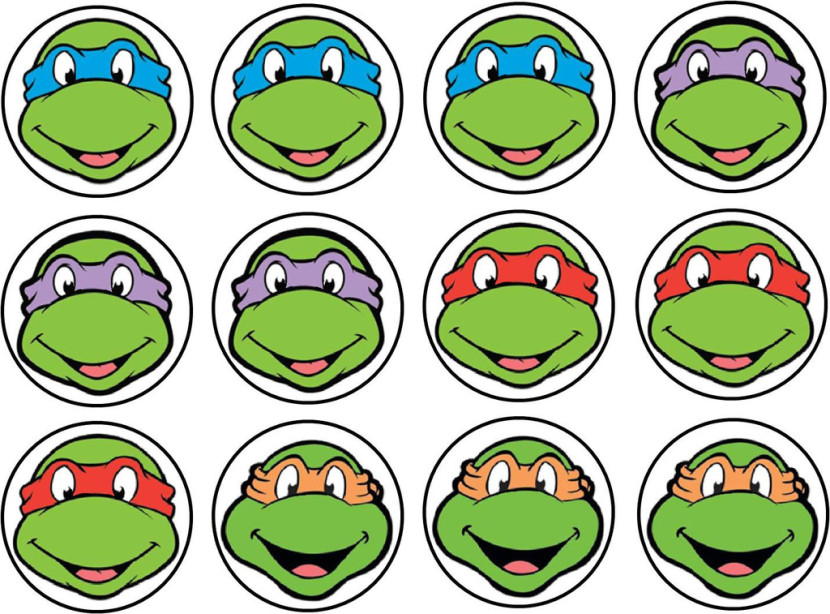Ninja Turtle Faces
