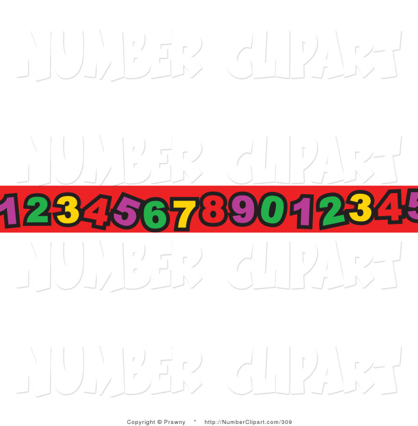 Number Border Clipart Free Clip Art Images