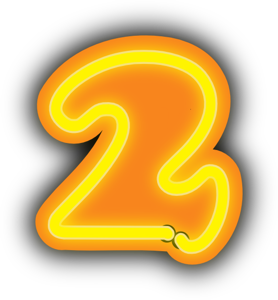 Number Two Clip Art At Vector Clip Art Online Royalty