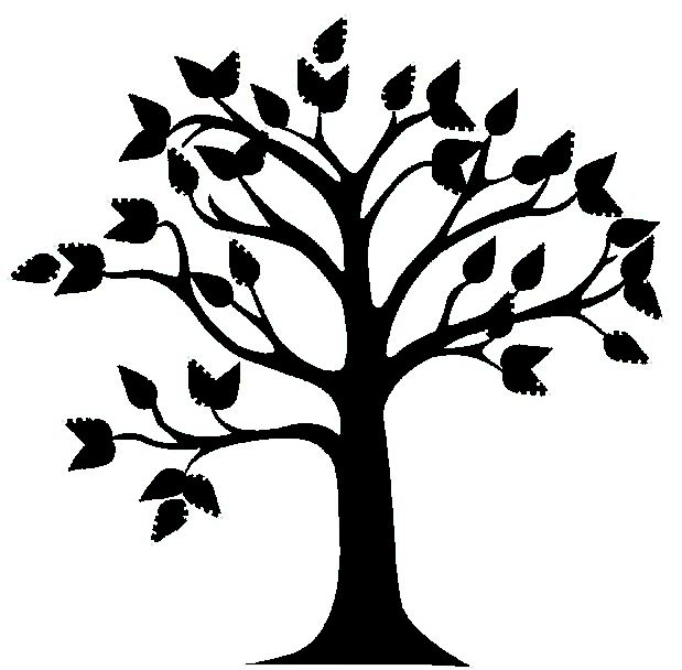 Oak Tree Clipart Black And White Vectorvisekart Clipart Free