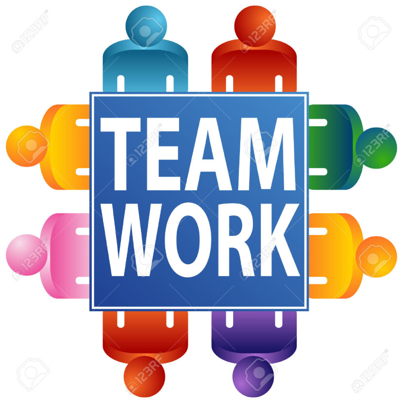 Office Teamwork Stock Vector Illustration And Royalty Free Office