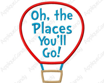 Oh The Places You Will Go Etsy