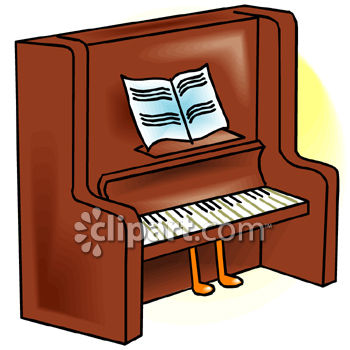 Old Piano Clipart