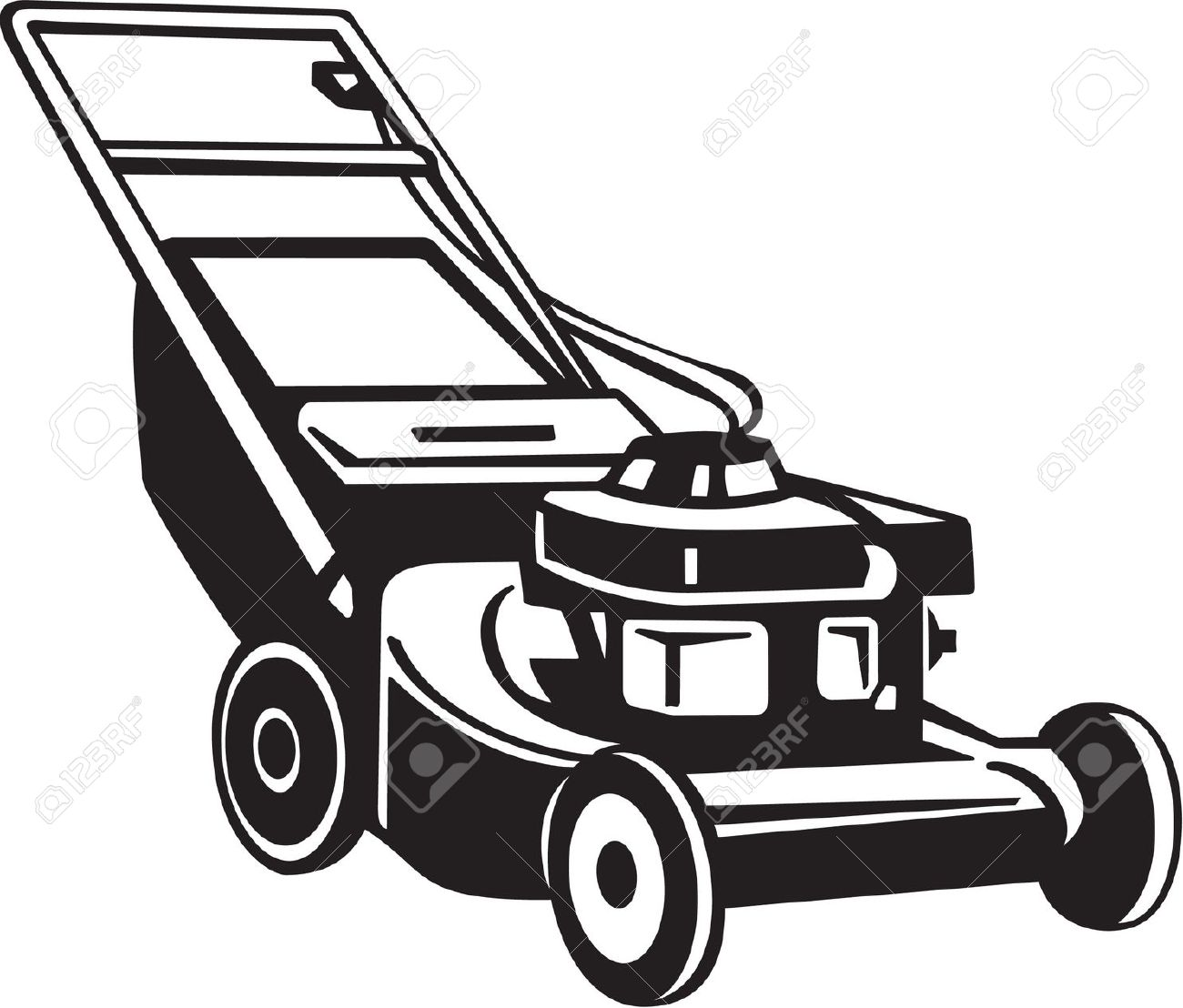 Best Lawn Mower Clipart 15184 Clipartion Com