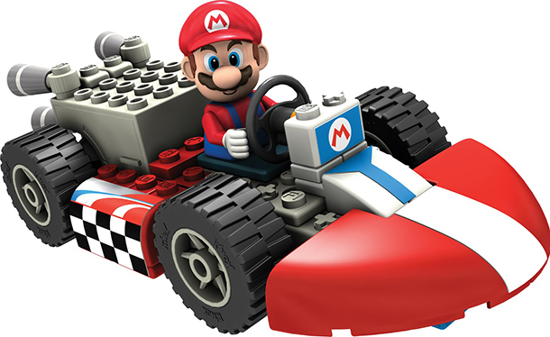 One Of The K\'nex Mario Kart Free Clipart Images