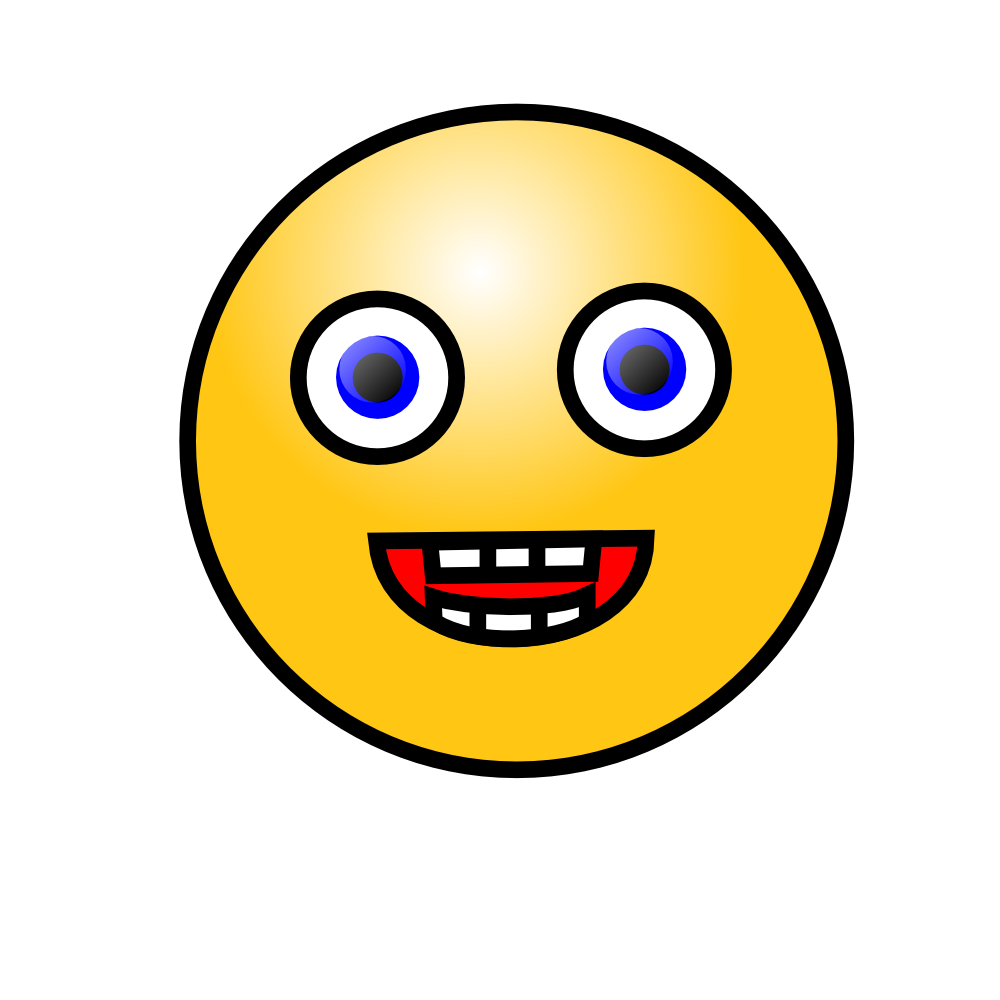 Onlinelabels Clip Art Emoticons Laughing Face