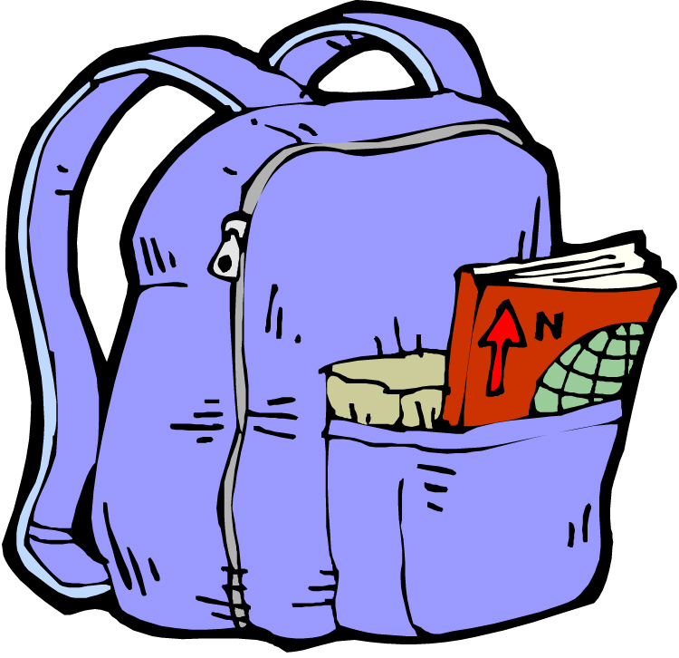 Open Backpack Clipart Free Clip Art Images