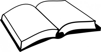 Open Book Clip Art Free Vector In Open Office Drawing