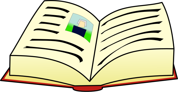Open Book Clip Art Png Free Clipart Images