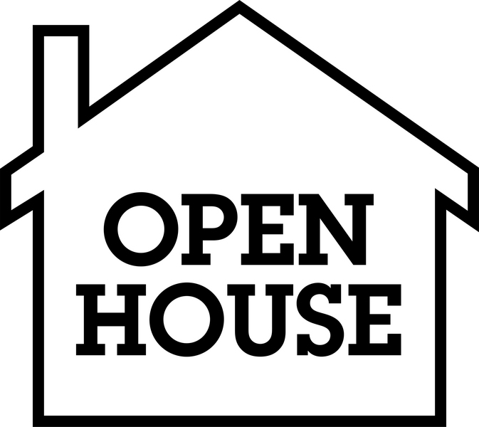 Open House Clipart