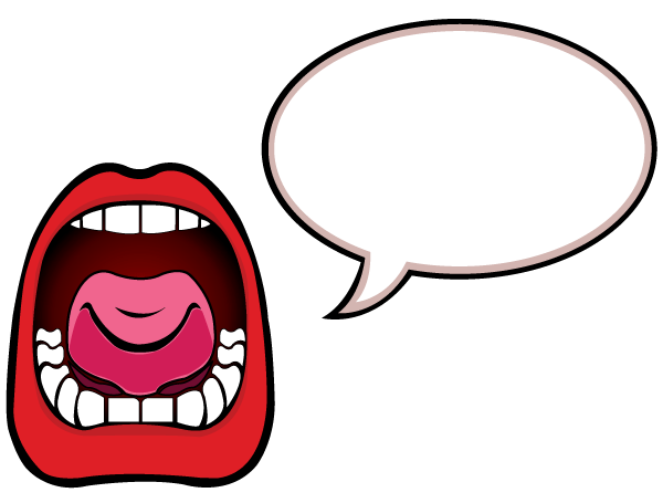 Best Talking Mouth Clipart #20767 - Clipartion.com