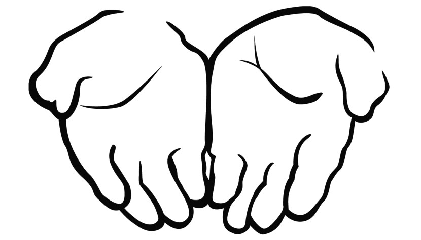 Open Praying Hands Clipart Free Clipart Images