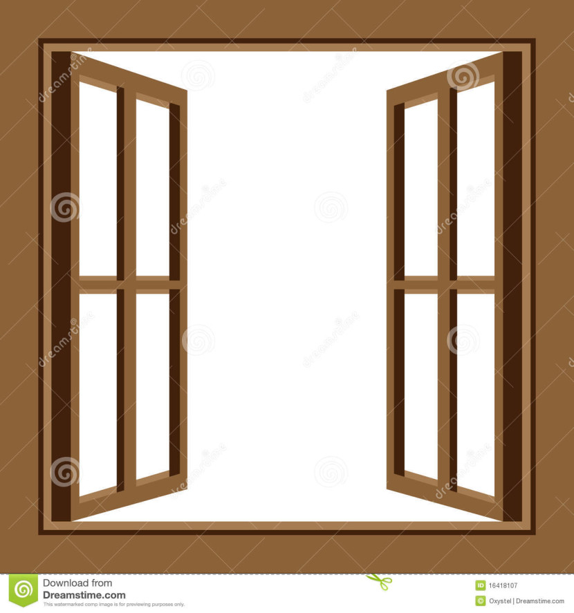 Window clipart for Window design cartoon