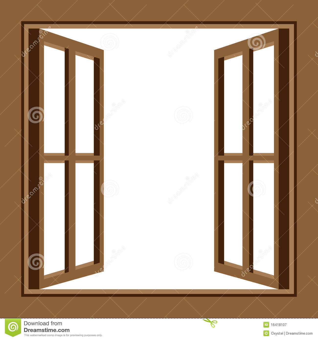 Best window clipart 10390 for Window design cartoon