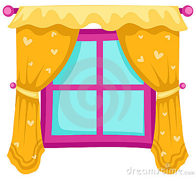 Opened Window Royalty Free Stock Photo Image