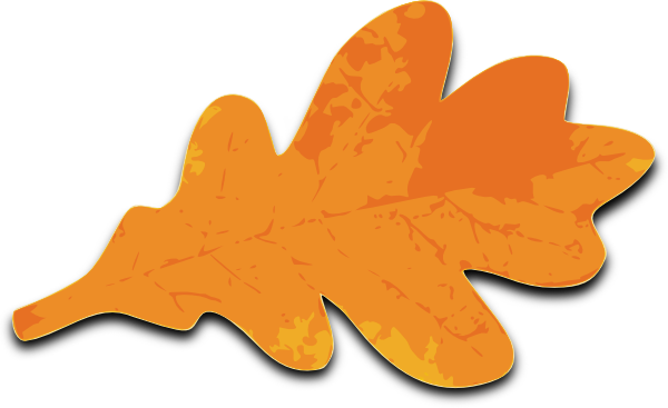 Orange Maple Leaf Clip Art At Vector Clip Art Online