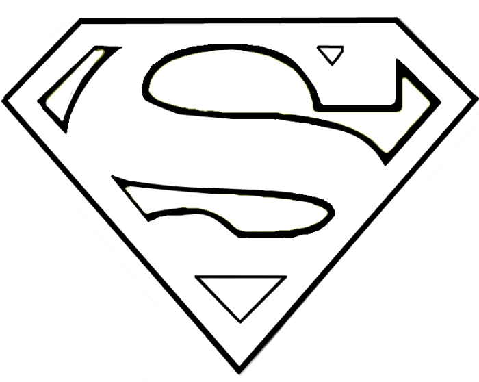 Best Superman Logo Clipart 18584 Clipartion