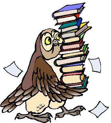 Owl Reading A Book Clipart Free Clip Art Images