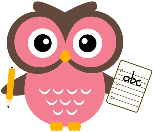 Owl With Notebookbocian Clipart Free Clip Art Images