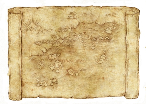 Treasure Map Clipart - Clipartion.com