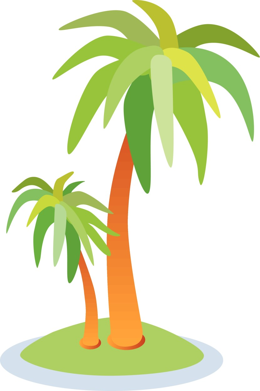 Palm Tree Art Palm Tree Island Clip Art Palm Tree Art Sahm One