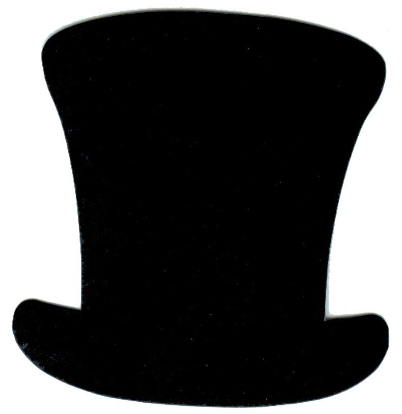 Paper Top Hat Cut Out 5