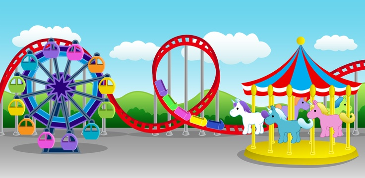 Parque Diversiones On Pinterest Amusement Parks Clip Art And