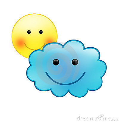 Best Partly Cloudy Clipart #10532 - Clipartion.com