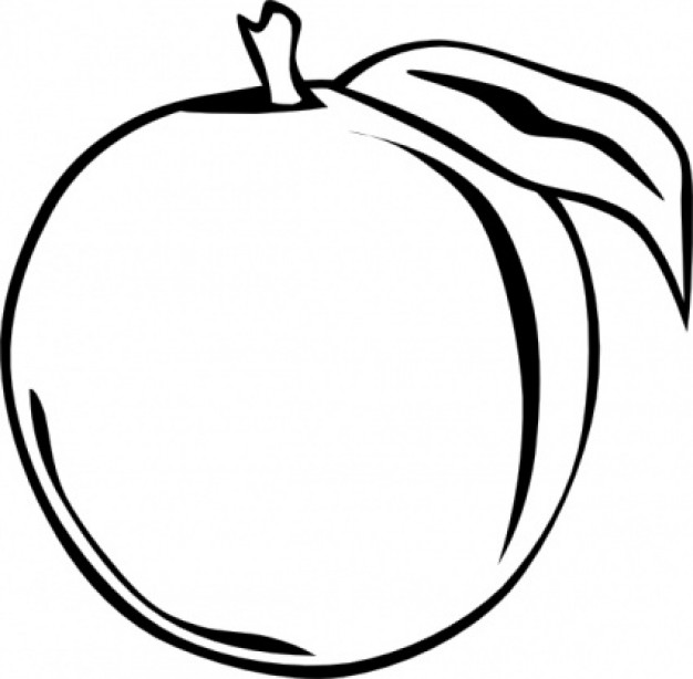 Peach Clipart Free Clipart Images