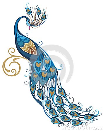 Peacock Stock Illustrations 3 Peacock Stock Illustrations