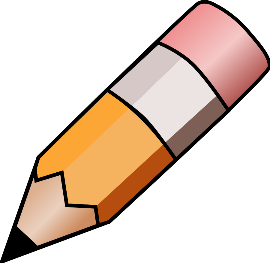Pencil Clipart Black And White Free Clipart Images