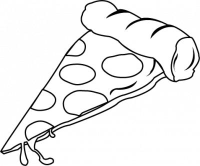 Pepperoni Pizza Clip Art