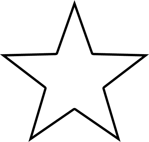Perfect Star Outline