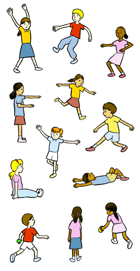 Physical Fitness Clipart Free Clip Art Images