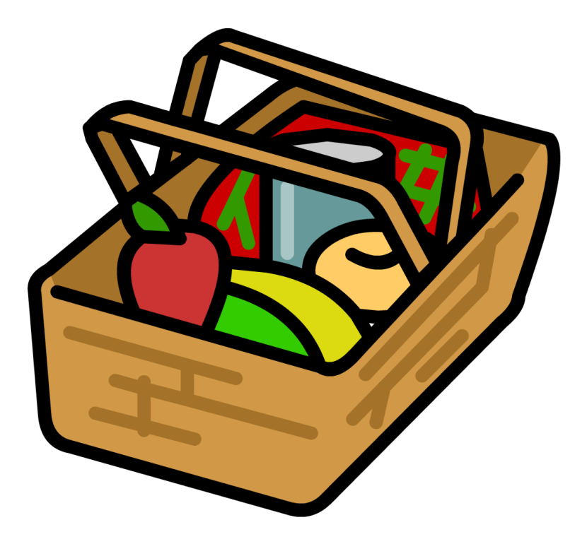 Picnic Basket Baskets Coolergif Household Kitchen Clipart Free