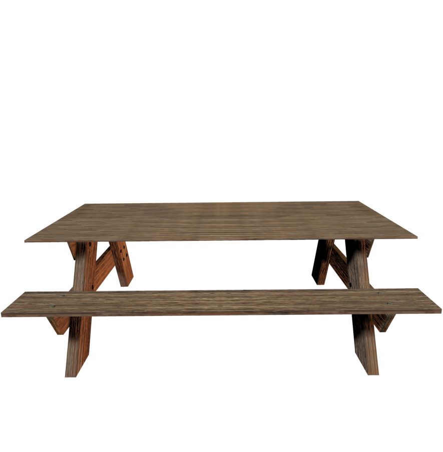 Picnic Table Png Clipart Free Clip Art Images