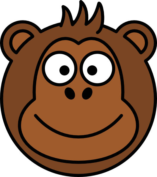 Picture Of Cartoon Monkey