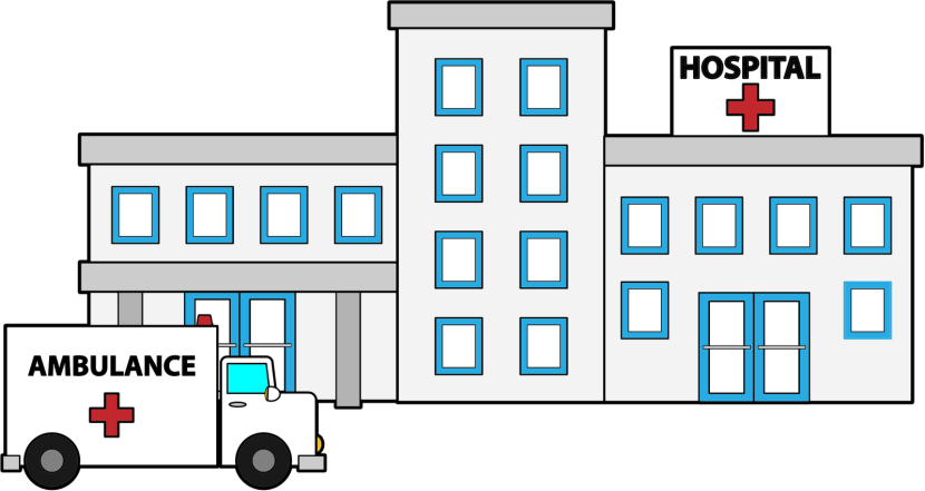 Best Hospital Clipart #17298 - Clipartion.com