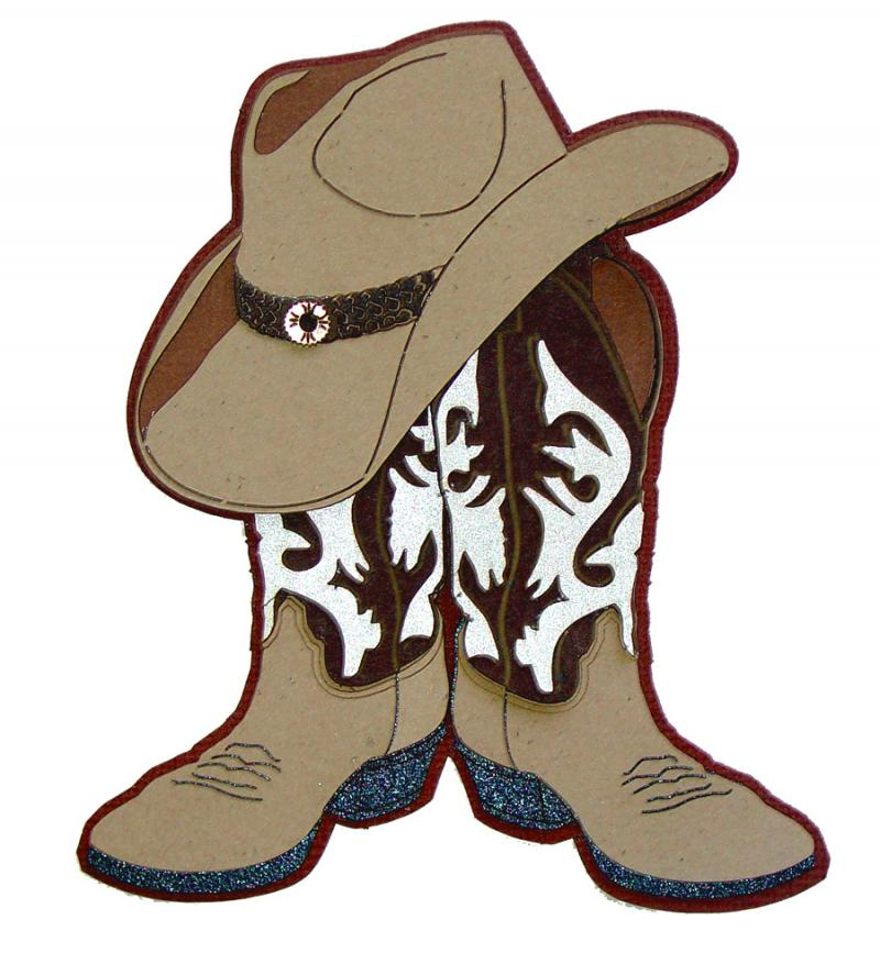 Pictures Of Cowboy Boots And Hats