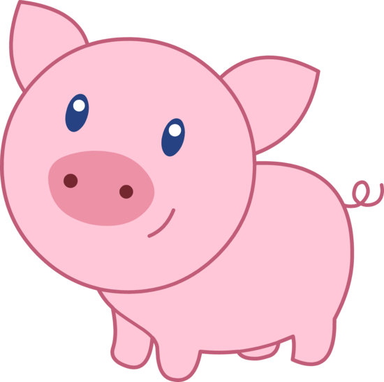 Pig Clip Art Animals Cleanclipart