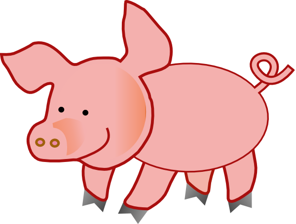 Pig Clipart Black And White Free Clipart Images