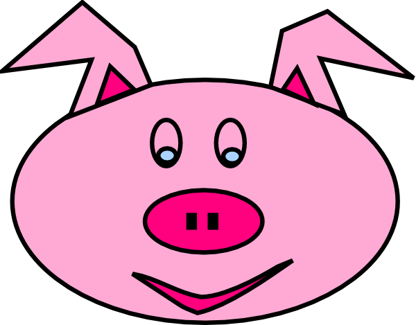 Pig Face With Mud Clipart Free Clip Art Images