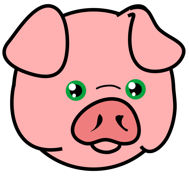 Pig Face2 Png