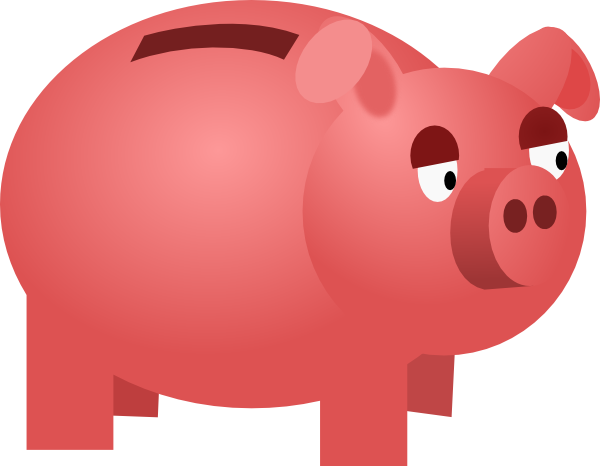 Piggy Bank Clip Art At Vector Clip Art Online Royalty