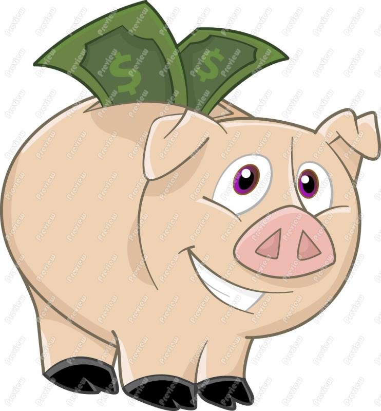 Piggy Bank Clip Art