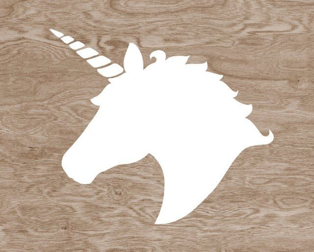 Pillow Silhouette Make Stuff Pinterest Unicorns Silhouette