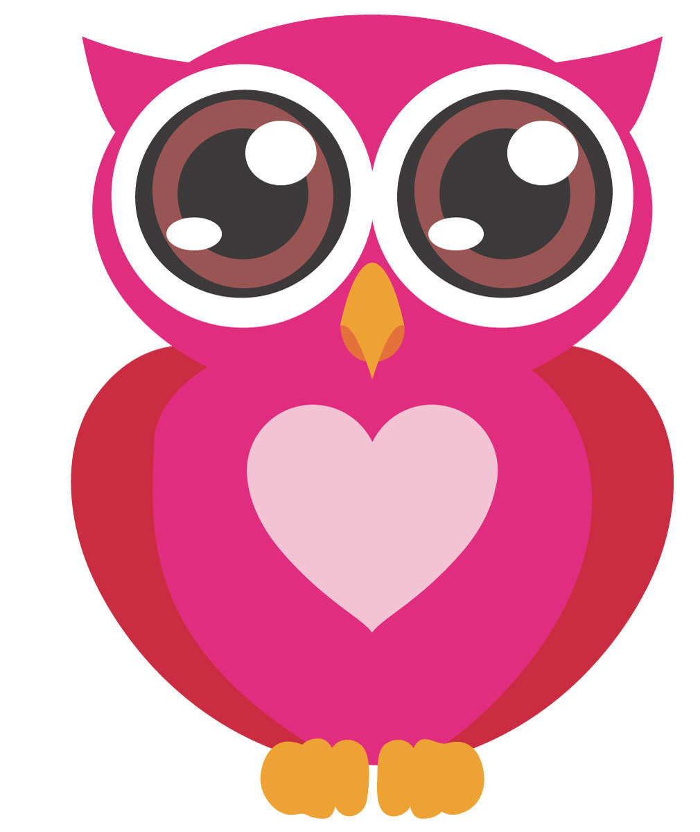 Pink Baby Owl Clipart Free Clipart Images