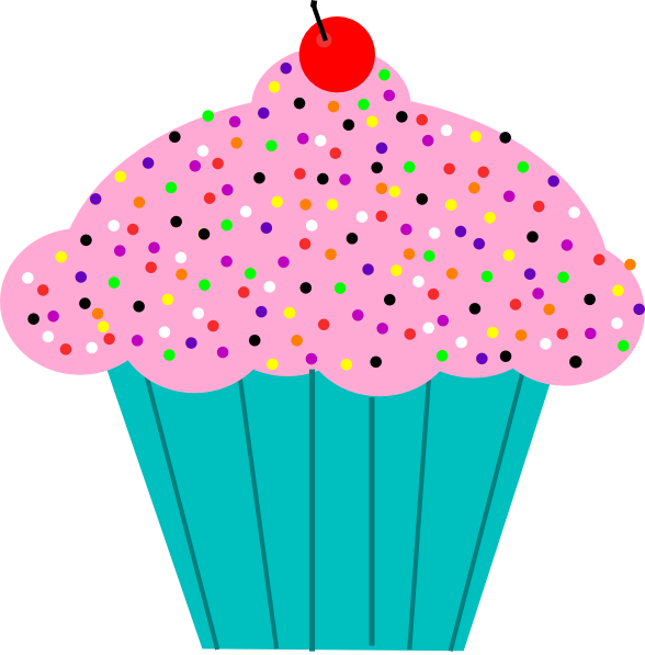 Pink Birthday Cupcake Clip Art The Art Mad Wallpapers